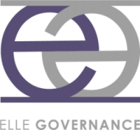 Elle Governance logo on whit background-about us